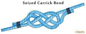 Seized Carrick Bend