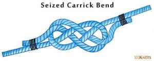 Seized Carrick Bend
