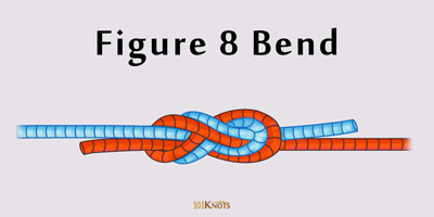 How To Tie A Figure 8 Bend Knot