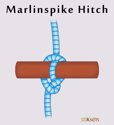 Marlinspike Hitch Tying Instructions