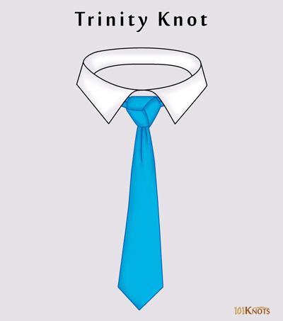 Trinity-Knot Windsor Tie Knot Diagram on half windsor diagram, tie tie diagram, how tie full windsor diagram,