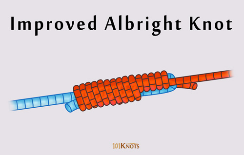 Improved Albright knot More Knots