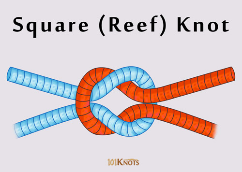 Jewelry 2018 >> How to Make a Square (Reef) Knot | 101 Knots