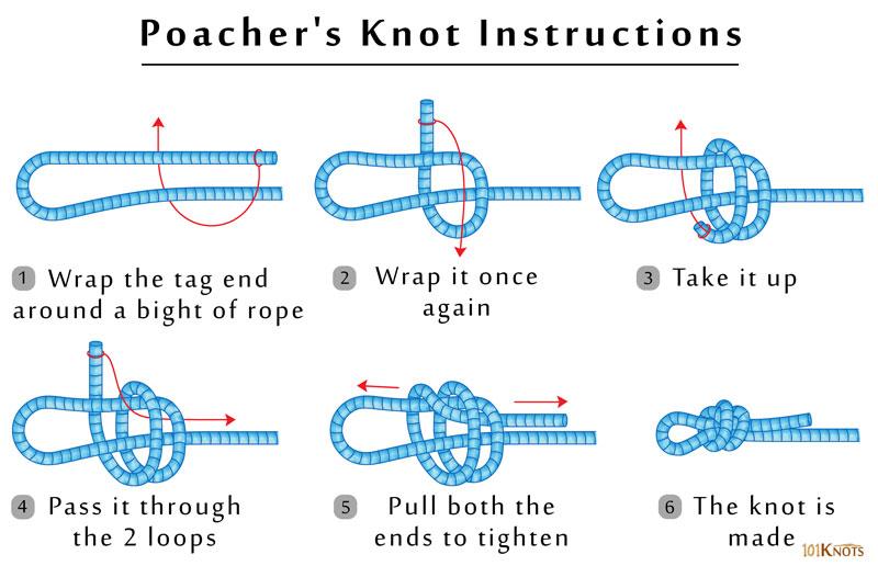 Poacher's Knot   101Knots